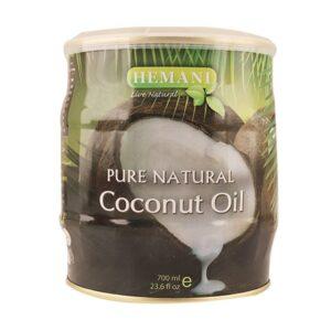 Hemani Pure Natural Coconut Oil Can 700ml