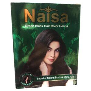 Naisa Green Black Color Henna Mehindi