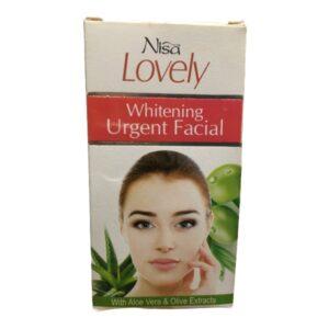 Nisa Lovely Whitening Urgent Facial Sachet