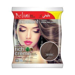 Belini Hair Color Light Brown Sachet