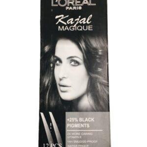 Loreal Paris Kajal Magic Pack of 12
