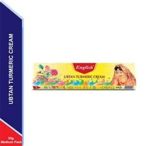 English Ubtan Turmeric Cream (Medium)