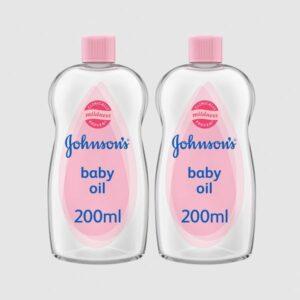 Johnsons Baby Oil (200ml) Combo Pack