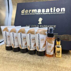 Dermasation Gold Facial Kit With Serum