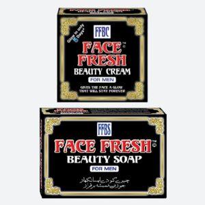 Face Fresh Beauty Cream & Soap For Men Pack