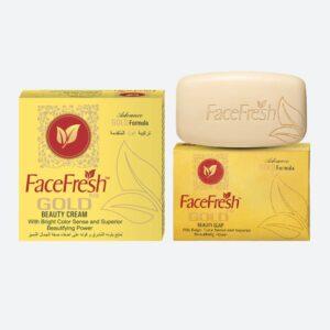 Face Fresh Gold Plus Cream & Soap