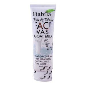 Fiabila Fair & White Goat Milk Face Wash 100ml