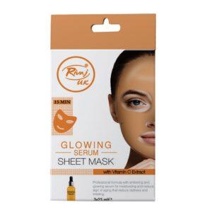 Rivaj UK Glowing Serum Sheet Mask 25ml X 3