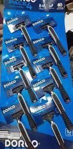 Dorco Race 4 Razor Pack of 10 Full Pack