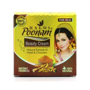 Haldi Poonam Beauty Cream 30gm Instant Fairness