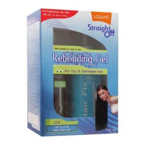 Lolane Rebonding Gel, For Dry & Damaged Hair, 125ml